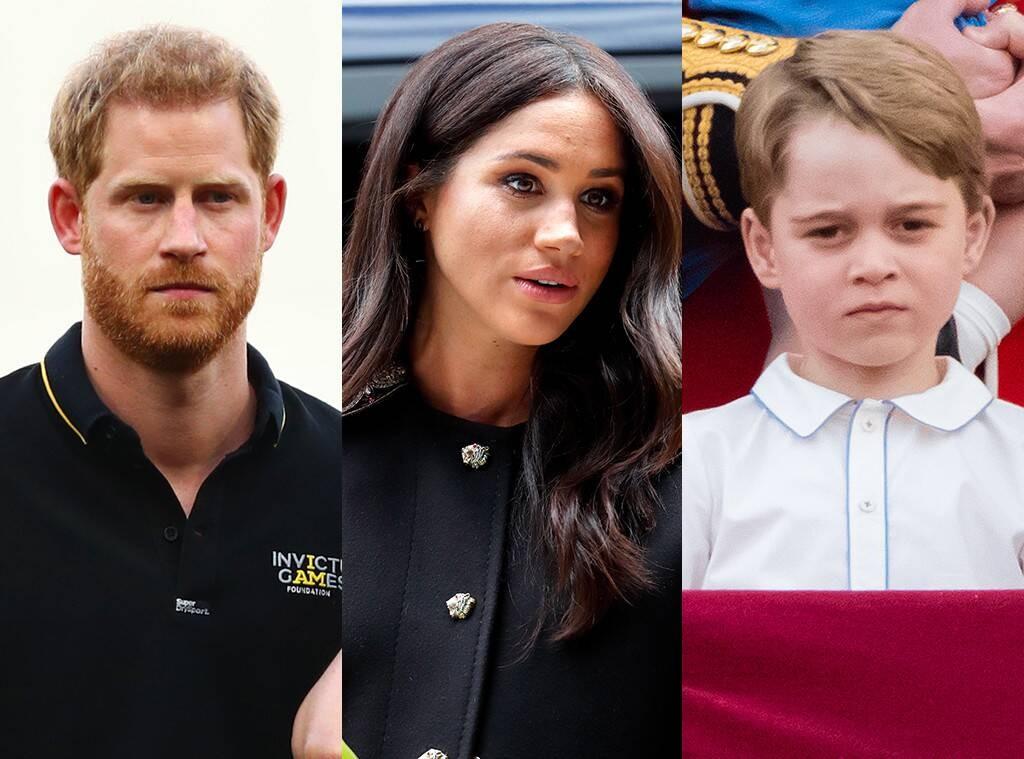 معايدة الأمير هاري وميغان ماركل للأمير جورج تثير غضب محبيه-بالصورة