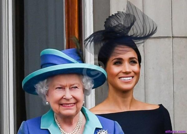 الملكة إليزابيث تمنع ميغان ماركل من إرتداء قطعة الملابس هذه!