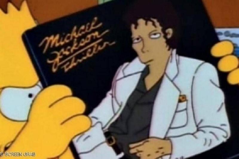 """بعد فضيحة مايكل جاكسون الجنسية إلغاء حلقة من مسلسل """"عائلة سيمبسون"""" الشهير"""