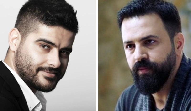 """ناصيف زيتون وتيم حسن في كواليس """"الهيبة""""-بالفيديو"""