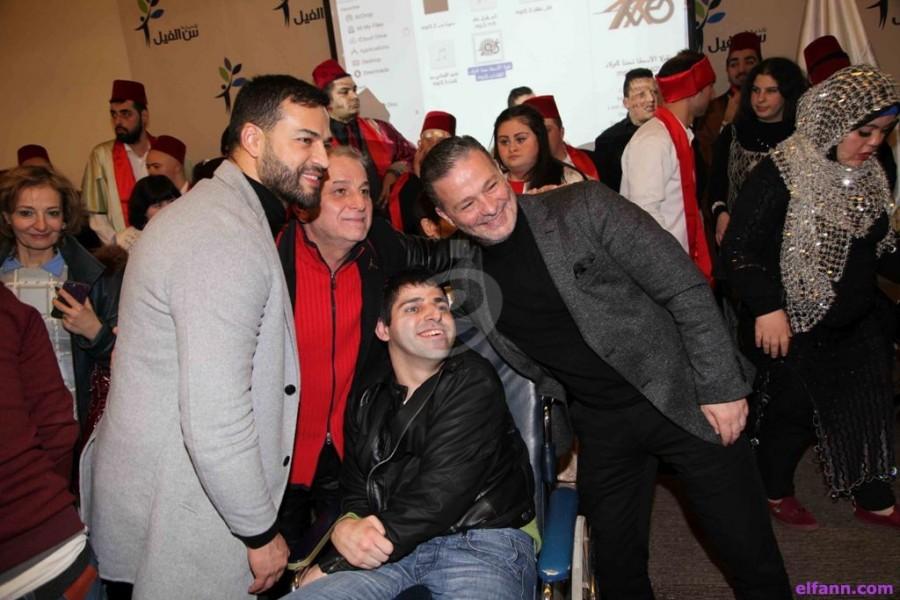 """هذا ما كشفه وسام حنا ونقولا الأسطا عن ذوي الإحتياجات الخاصة وفرقة """"نجوم الكفاءات"""" تبدع"""