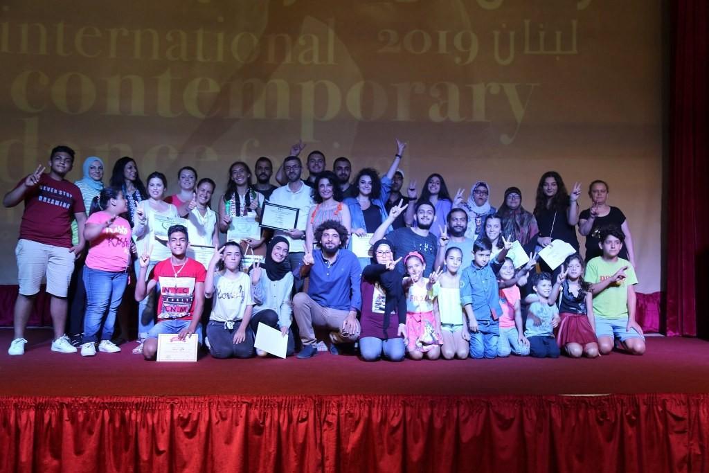 الكشف عن نتائج مهرجان لبنان المسرحي للرقص المعاصر