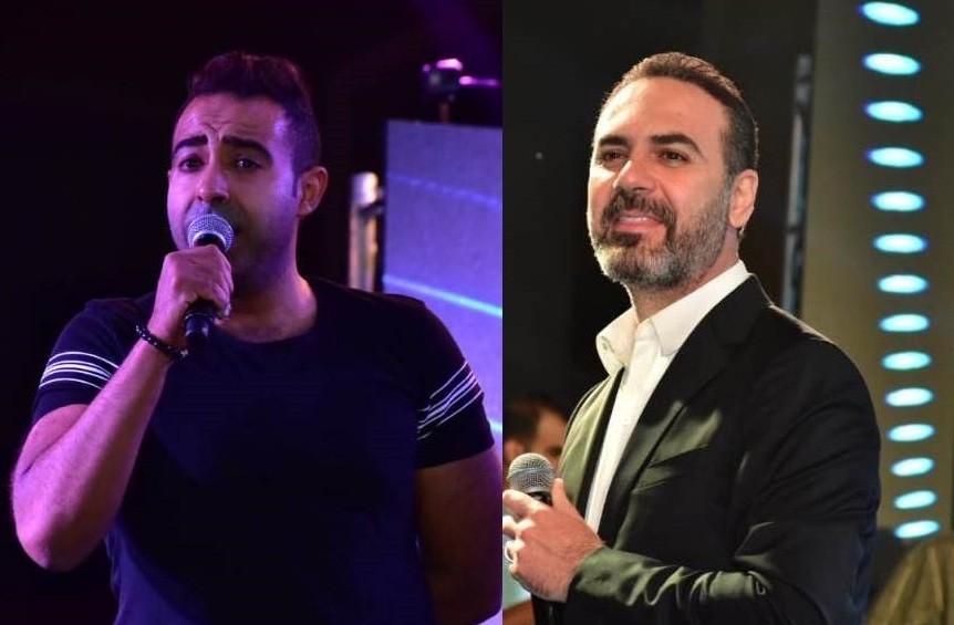 خاص الفن- وائل جسار ومحمد عدوية يشعلان أجواء إحدى خيم التجمع بحضور نجوم الفن والمشاهير