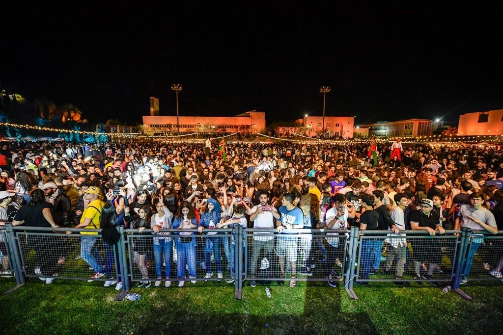 سعد رمضان يحيي حفل مهرجان الربيع في جامعة البلمند