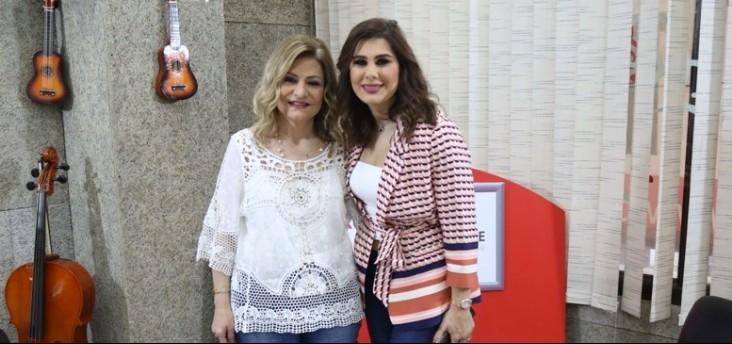 """خاص وبالفيديو- دانيا الحسيني :""""سمحت لـ أبو بأن يظهر في حلقتي مع يسرا"""""""