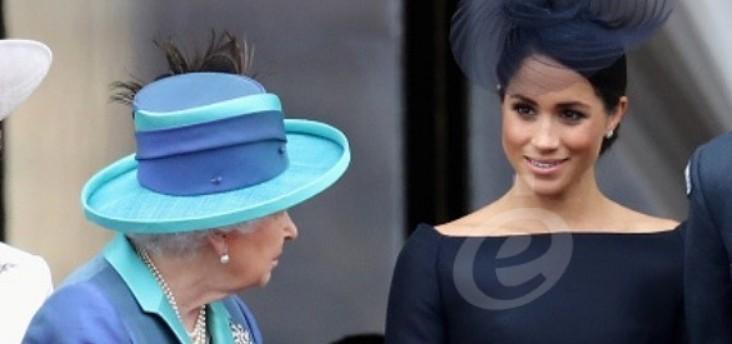 الملكة إليزابيت لا تريد تكرار تجربة ديانا مع ميغان ماركل
