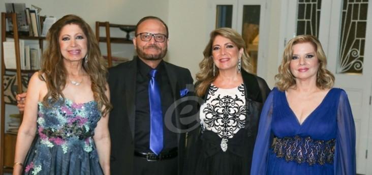 أمال ورونزا وفاديا طنب حناجر من ماس تصدح بالفن الأصيل في حمانا